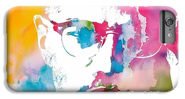 Malcolm X Watercolor IPhone 6 Plus Case by Dan Sproul