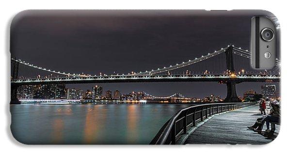Manhattan Bridge - New York - Usa 2 IPhone 6 Plus Case by Larry Marshall