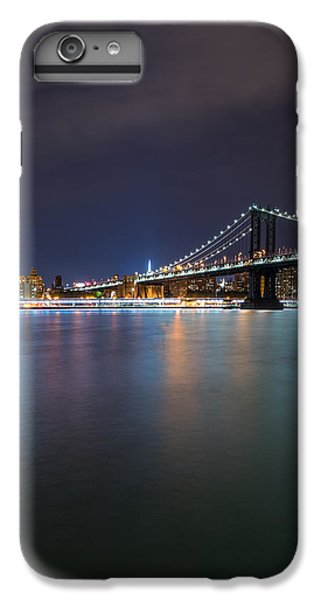 Manhattan Bridge - New York - Usa IPhone 6 Plus Case by Larry Marshall