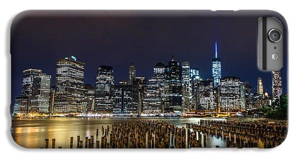 Manhattan Skyline - New York - Usa IPhone 6 Plus Case by Larry Marshall
