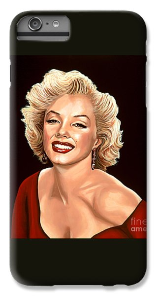 Marilyn Monroe 3 IPhone 6 Plus Case by Paul Meijering