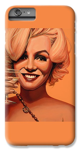 Marilyn Monroe 5 IPhone 6 Plus Case by Paul Meijering