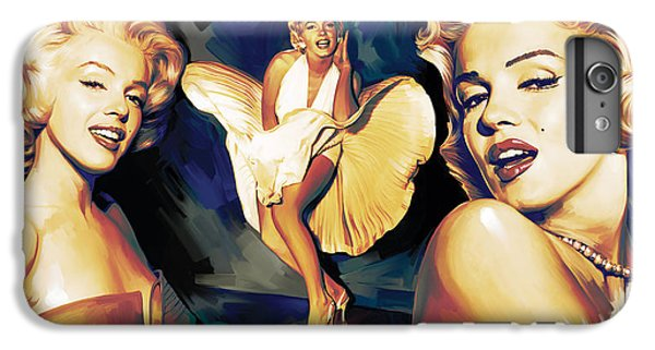 Marilyn Monroe Artwork 3 IPhone 6 Plus Case by Sheraz A