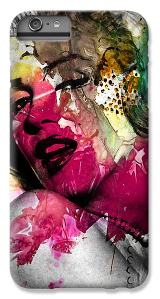Marilyn Monroe IPhone 6 Plus Case by Mark Ashkenazi