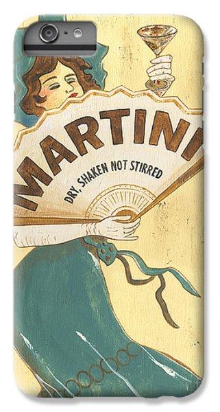 Martini Dry IPhone 6 Plus Case by Debbie DeWitt