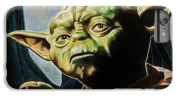 Master Yoda IPhone 6 Plus Case by Brian Broadway