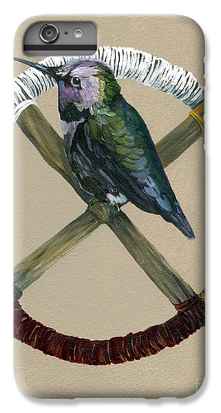 Medicine Wheel IPhone 6 Plus Case by J W Baker