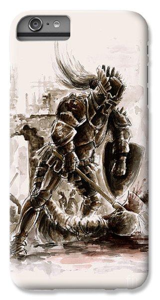 Medieval Knight IPhone 6 Plus Case by Mariusz Szmerdt