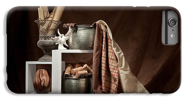 Medley Of Textures Still Life IPhone 6 Plus Case by Tom Mc Nemar
