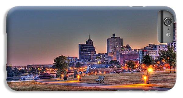 Cityscape - Skyline - Memphis At Dawn IPhone 6 Plus Case by Barry Jones