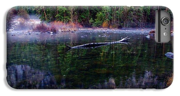 Merced River Riverscape IPhone 6 Plus Case by Scott McGuire