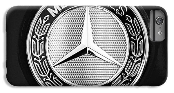 Mercedes-benz 6.3 Gullwing Emblem IPhone 6 Plus Case by Jill Reger