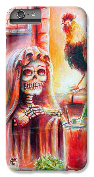 Mi Bloody Mary IPhone 6 Plus Case by Heather Calderon