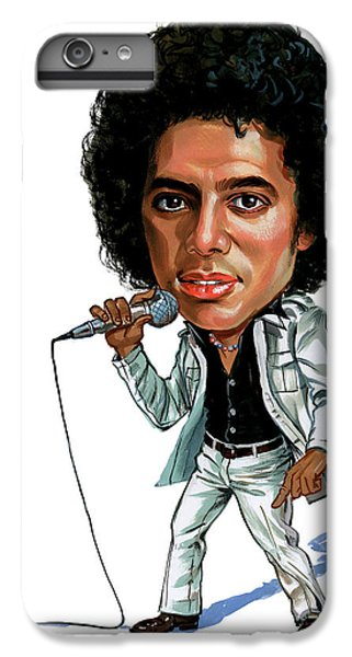 Michael Jackson IPhone 6 Plus Case by Art