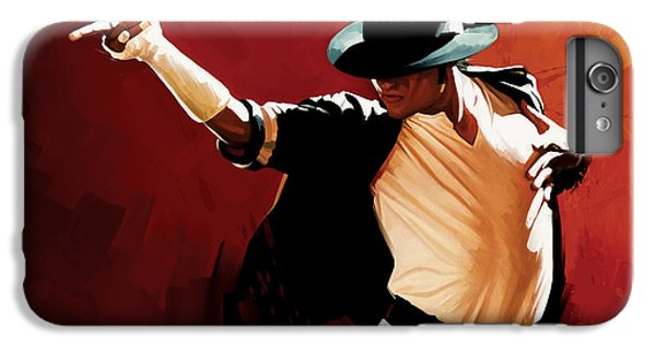 Michael Jackson Artwork 4 IPhone 6 Plus Case by Sheraz A