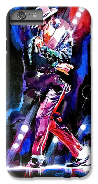 Michael Jackson Moves IPhone 6 Plus Case by David Lloyd Glover