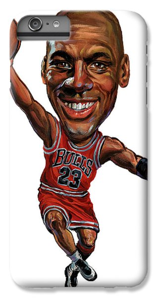 Michael Jordan IPhone 6 Plus Case by Art