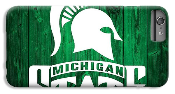 Michigan State Barn Door IPhone 6 Plus Case by Dan Sproul