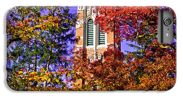 Michigan State University Beaumont Tower IPhone 6 Plus Case by John McGraw