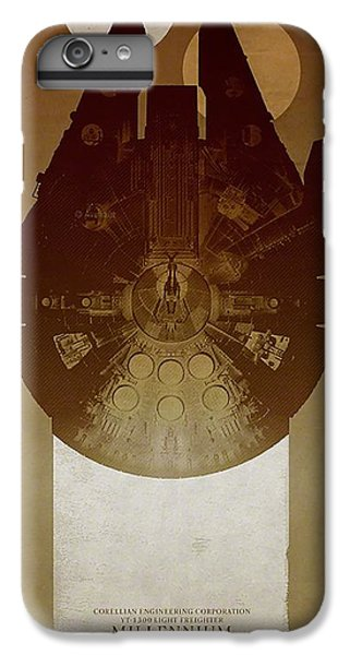 Millennium Falcon IPhone 6 Plus Case by Baltzgar