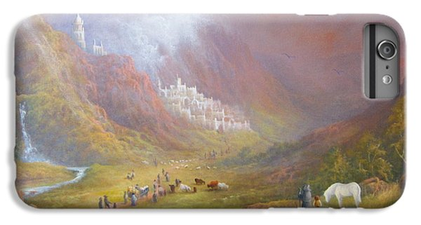 Minas Tirith  War Approaches. IPhone 6 Plus Case by Joe  Gilronan