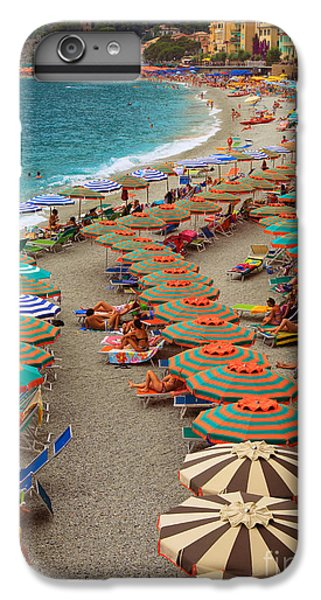 Monterosso Beach IPhone 6 Plus Case by Inge Johnsson