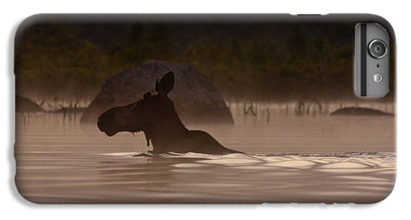 Moose Swim IPhone 6 Plus Case by Brent L Ander