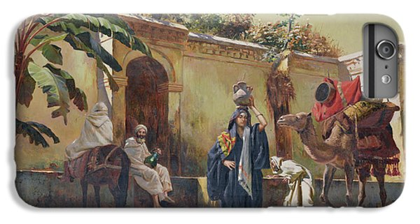 Moroccan Scene IPhone 6 Plus Case by Rudolphe Ernst