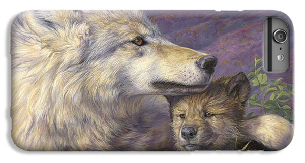 Mother's Love IPhone 6 Plus Case by Lucie Bilodeau