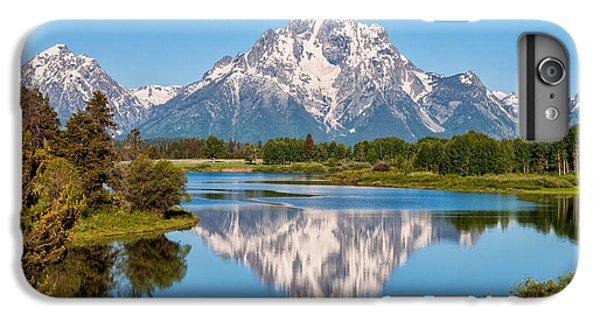 Mount Moran On Snake River Landscape IPhone 6 Plus Case by Brian Harig
