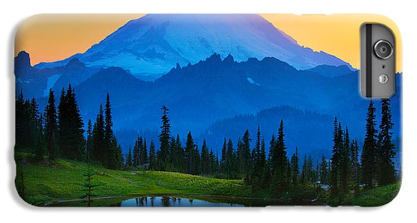 Mount Rainier Goodnight IPhone 6 Plus Case by Inge Johnsson