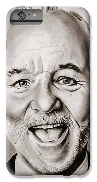 Mr Bill Murray IPhone 6 Plus Case by Brian Broadway
