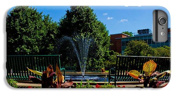 Msu Water Fountain IPhone 6 Plus Case by John McGraw