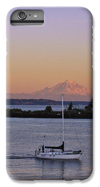 Mt. Rainier Afterglow IPhone 6 Plus Case by Adam Romanowicz