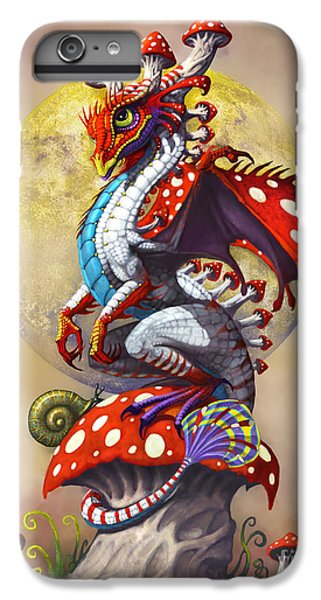 Mushroom Dragon IPhone 6 Plus Case by Stanley Morrison