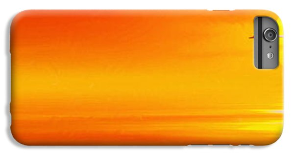 Mute Sunset IPhone 6 Plus Case by John Edwards
