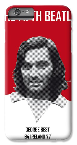 My Best Soccer Legend Poster IPhone 6 Plus Case by Chungkong Art