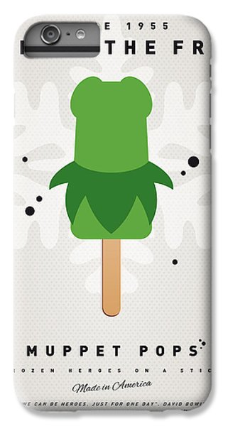 My Muppet Ice Pop - Kermit IPhone 6 Plus Case by Chungkong Art