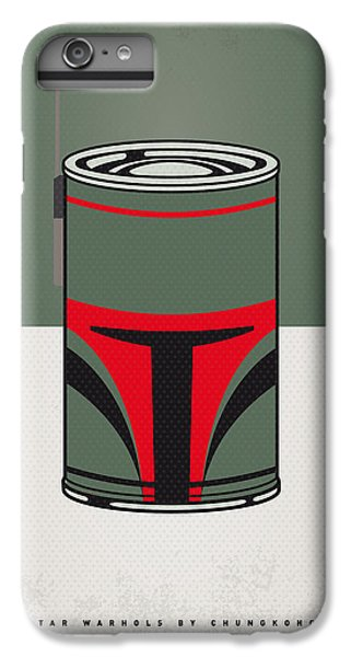 My Star Warhols Boba Fett Minimal Can Poster IPhone 6 Plus Case by Chungkong Art