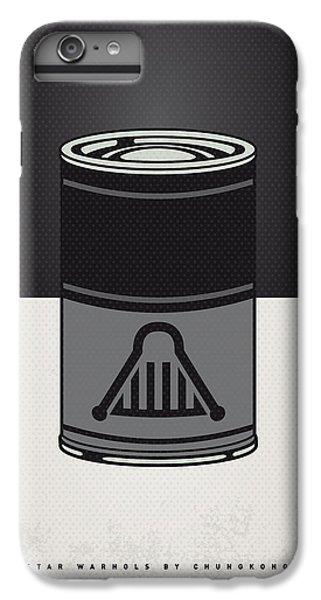 My Star Warhols Darth Vader Minimal Can Poster IPhone 6 Plus Case by Chungkong Art