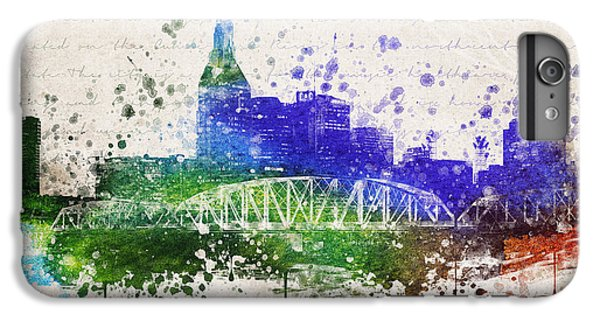 Nashville In Color IPhone 6 Plus Case by Aged Pixel