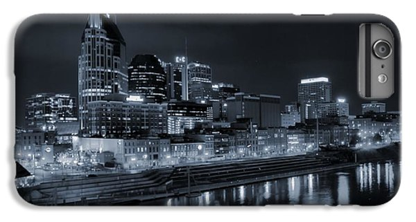 Nashville Skyline At Night IPhone 6 Plus Case by Dan Sproul