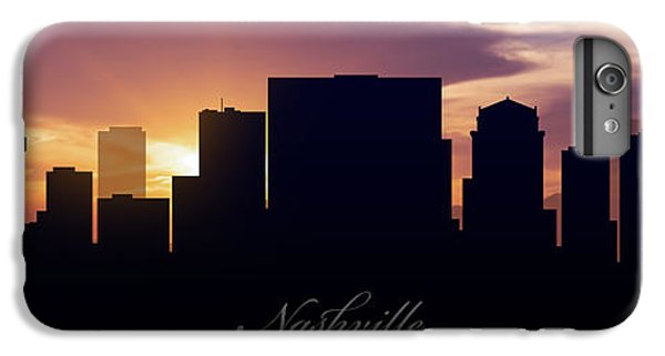 Nashville Sunset IPhone 6 Plus Case by Aged Pixel