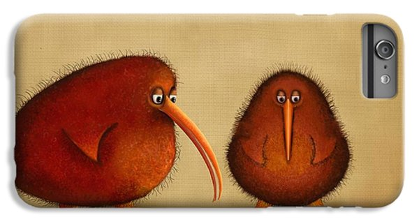 New Arrival. Kiwi Bird - Sweet As - Boy IPhone 6 Plus Case by Marlene Watson