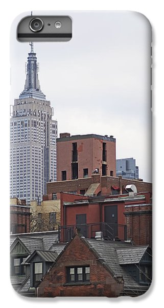 New York Buttes IPhone 6 Plus Case by Rona Black
