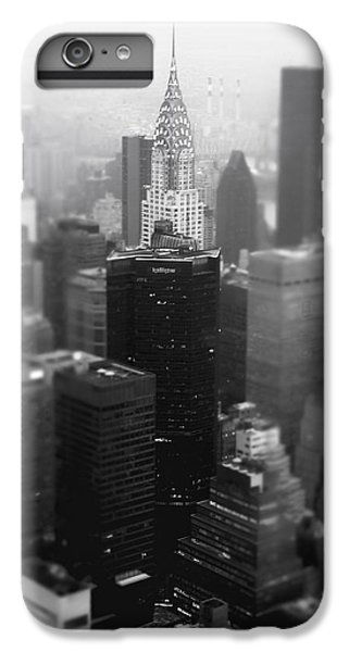 New York City - Fog And The Chrysler Building IPhone 6 Plus Case by Vivienne Gucwa