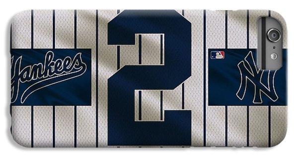 New York Yankees Derek Jeter IPhone 6 Plus Case by Joe Hamilton