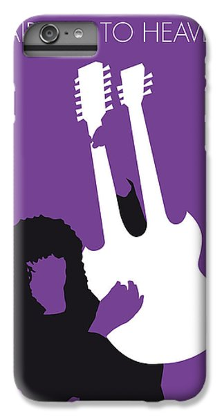 No011 My Led Zeppelin Minimal Music Poster IPhone 6 Plus Case by Chungkong Art