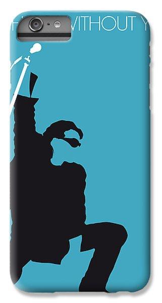 No035 My U2 Minimal Music Poster IPhone 6 Plus Case by Chungkong Art