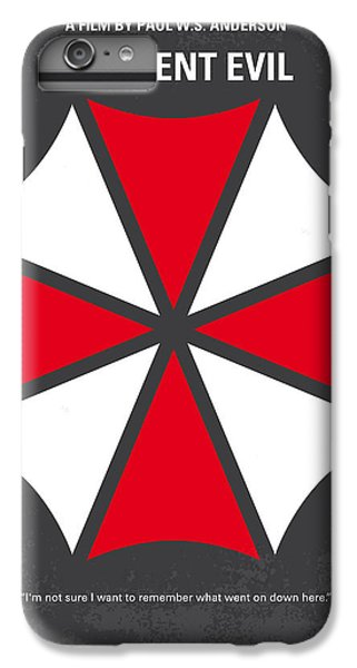 No119 My Resident Evil Minimal Movie Poster IPhone 6 Plus Case by Chungkong Art